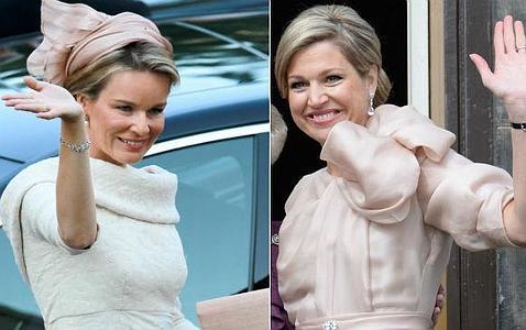 Matilde de los Belgas acierta con su estilismo para convertirse en Reina