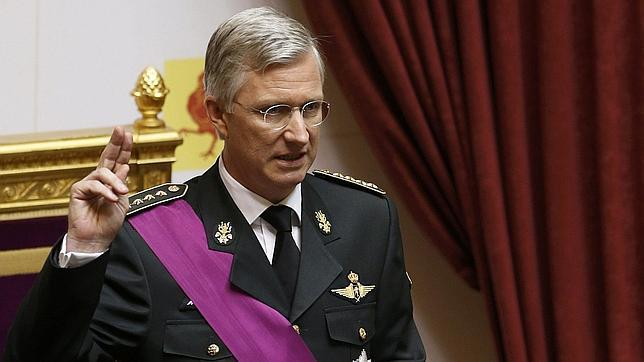 La entronización de Felipe de los Belgas