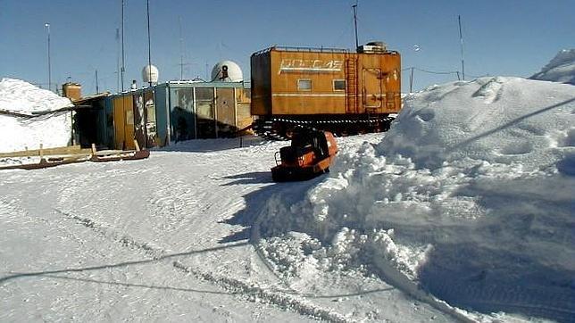 Resultado de imagen para base antartica vostok