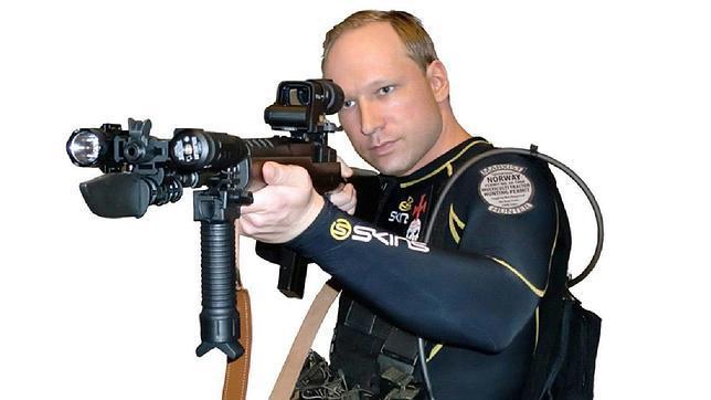 Breivik, el autor de la peor matanza noruega desde la Segunda Guerra Mundial