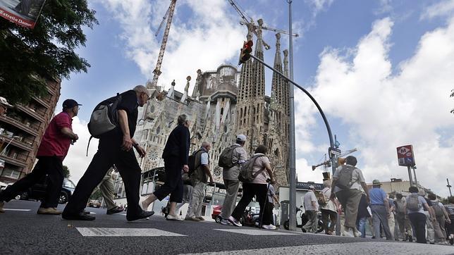 La Sagrada Familia, objetivo soberanista