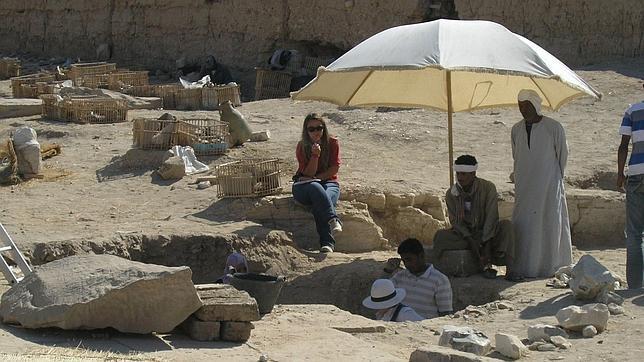 «La mayor parte de Luxor permanece bajo la arena del desierto»