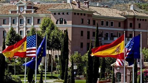 El Hotel Villa Padierna, en Málaga