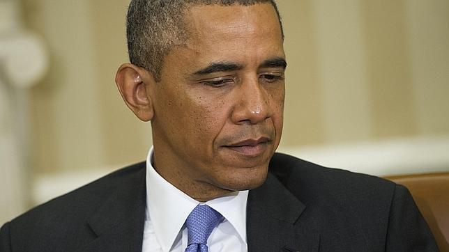 Obama, «impactado» y «entristecido» por el accidente de tren en España