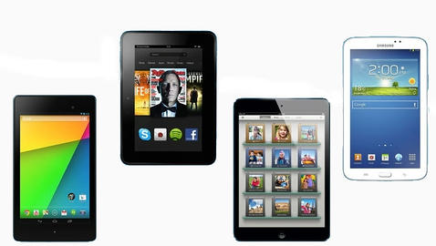 La nueva Nexus 7 contra el iPad Mini,  Galaxy Tab 3 7.0 y Kindle Fire HD