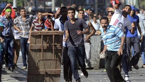 Choques violentos en El Cairo este fin de semana