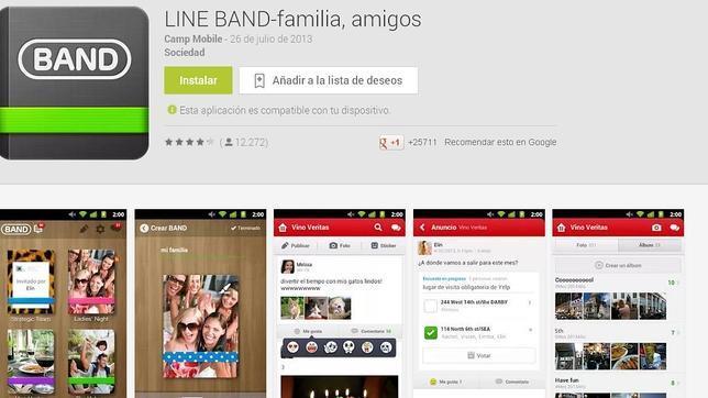 La red social Line Band lanza versión de escritorio