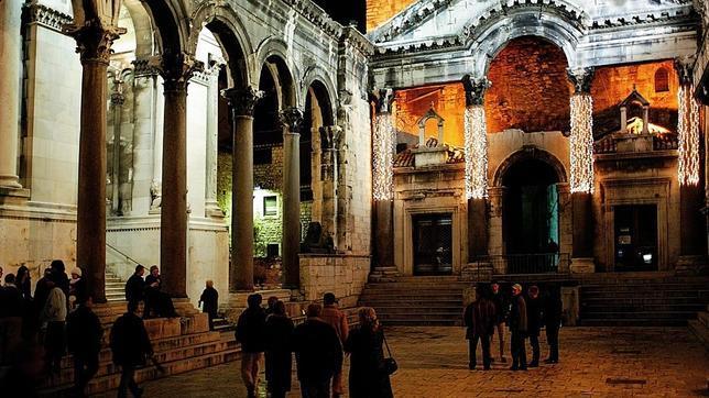 Palacio de Diocleciano, en Split