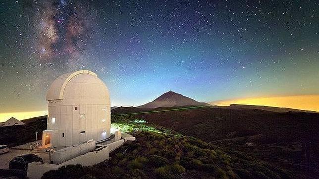 El observatorio de Tenerife estrenará un láser de comunicaciones de la ESA