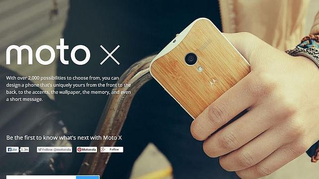 Moto X, la perfecta combinación de Google y Motorola