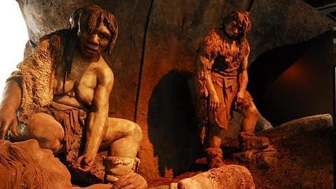 Exposición de los orígenes del hombre, en 2008