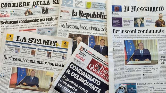 Italia se pregunta si Berlusconi ingresará en prisión y por el futuro del actual gobierno