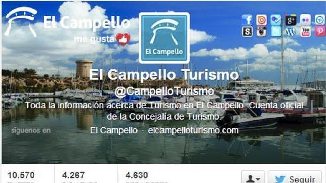 Imagen del twitter del portal de El Campello Turismo