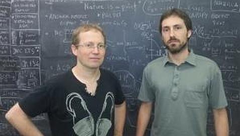 Joaquim Matías y Javier Virto, de la Universidad Autónoma de Barcelona