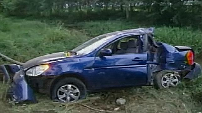 Polémica por el color del coche que seguía a Carromero antes del accidente en Cuba