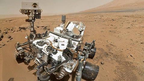 Primera fotografía «autorretrato» del Rover Curiosity en Marte