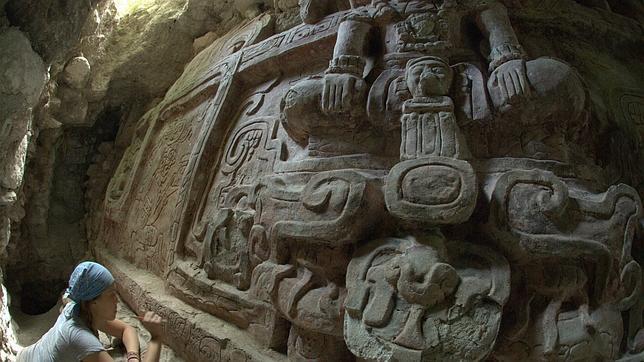 Descubren un sorprendente friso de la cultura maya en Guatemala