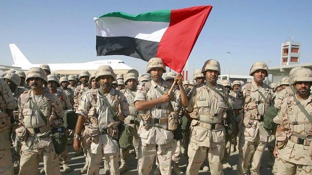 1.500 militares colombianos, al servicio del Ejército de los Emiratos Árabes