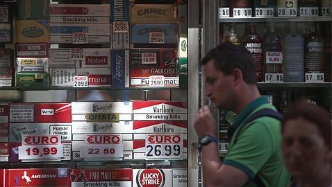El contrabando de tabaco es una práctica habitual