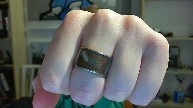 Un anillo NFC para desbloquear móviles