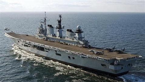 El HMS Illustrious