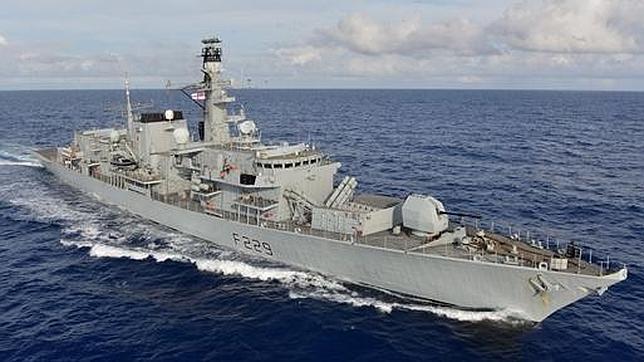 La flota británica que zarpará rumbo a Gibraltar