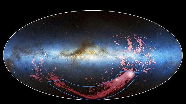 El Hubble halla el origen de la Corriente de Magallanes