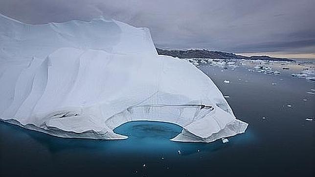 El hielo de Groenlandia se está derritiendo también desde abajo