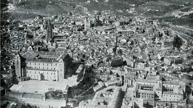 Fotografías aéreas de Toledo, nueva exposición virtual del Archivo Municipal