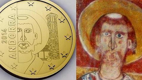 Andorra no tendrá la imagen del Pantocrátor en sus euros