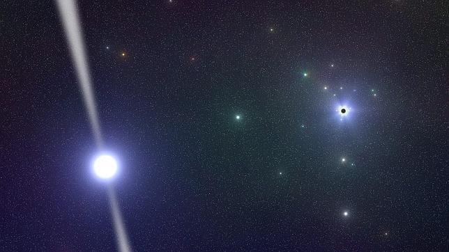 El púlsar que explicará la «dieta» del Agujero Negro central de nuestra galaxia