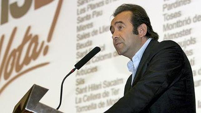 Miquel Calçada, durante la presentación de los actos del Tricentenario