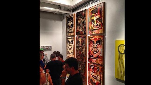 La famosa cara de André el Gigante en un museo
