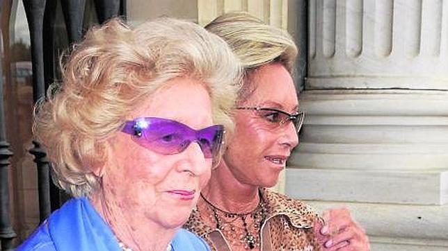 La duquesa de Medinaceli será enterrada en Toledo este lunes