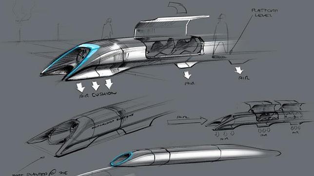 El tren del futuro: a mil kilómetros por hora y por algo más de 20 dólares