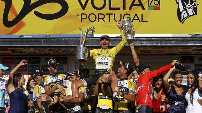 Alejandro Marque sucede a David Blanco en la Vuelta a Portugal