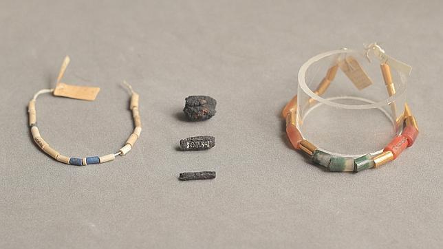 Las primeras joyas del Antiguo Egipto se fabricaron con hierro de meteoritos