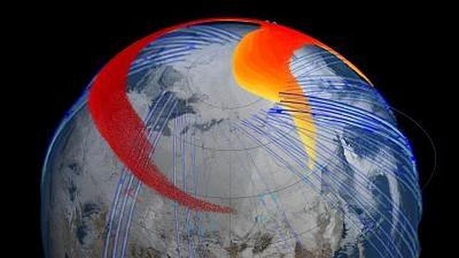 La NASA rastrea la pluma del meteorito de Chelyabinsk