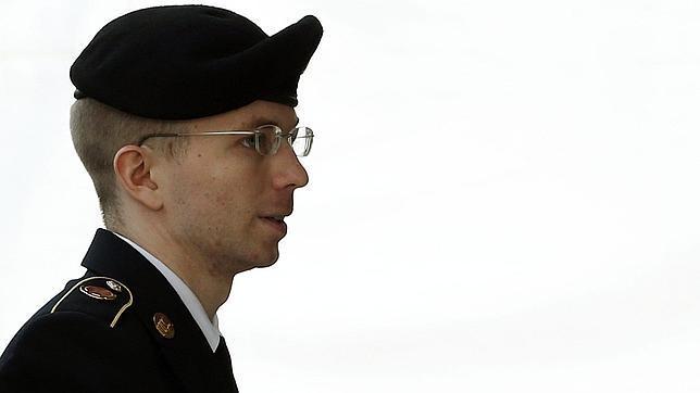 El soldado Bradley Manning, condenado a 35 años en prisión por el caso Wikileaks