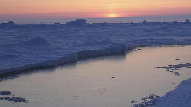 La capa de hielo del Ártico, en mínimos históricos