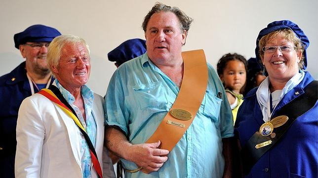 Depardieu, «ciudadano de honor» de la localidad belga donde reside