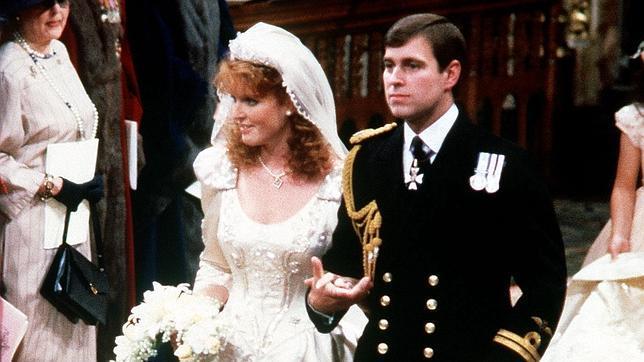 El Principe Andres Y Sarah Ferguson Muy Cerca De Su Segunda Boda