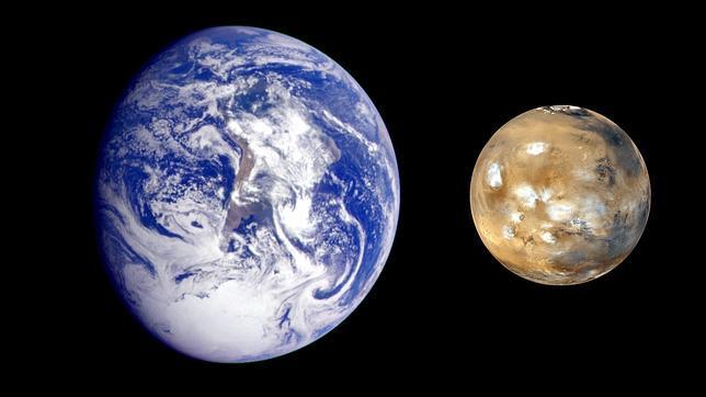 Hallan pruebas del «origen marciano» de la vida en la Tierra