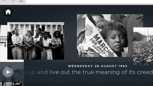 «We are still marching»: una web de Google para rememorar el célebre discurso de Martin Luther King