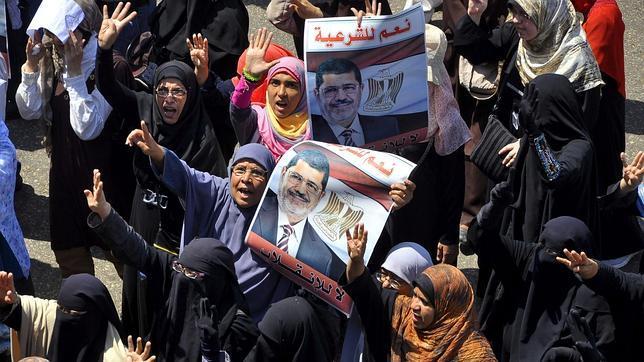 Los islamistas egipcios, preparados para una nueva jornada de protestas