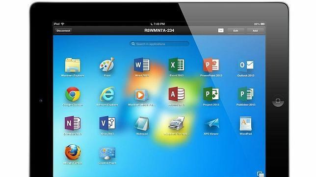Controla el ordenador desde el iPad con Parallels