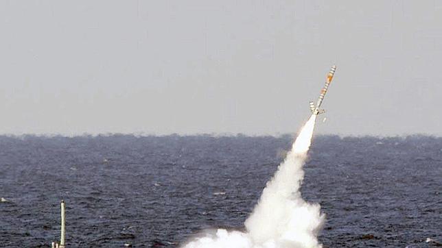 El misil «Tomahawk», 450 kilos de explosivo lanzado a 1.800 kilómetros de distancia