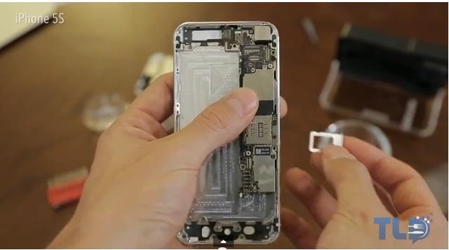 Lo mejor del iPhone 5S está en su interior