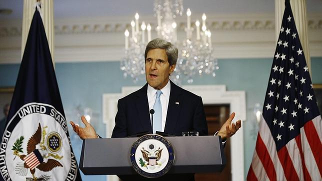 Kerry: «El régimen de Assad tiene el mayor programa de armas químico y lo ha usado»