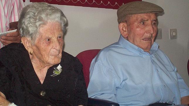 El matrimonio más longevo de España cumple 81 años juntos